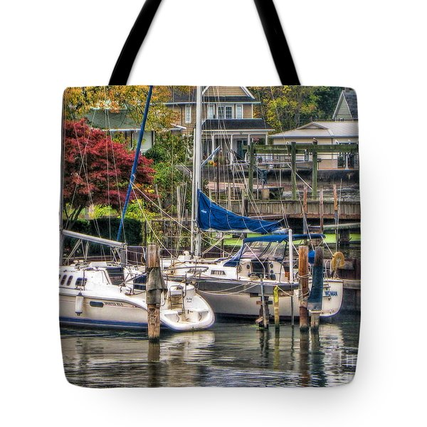 Fall Memory Tote Bag
