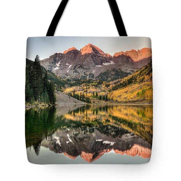 Fall N Reflections Tote Bag