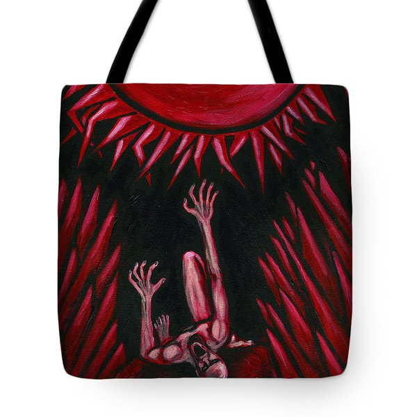Fall Of Icarus Tote Bag