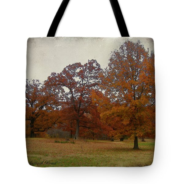 Fall On Antioch Road Tote Bag