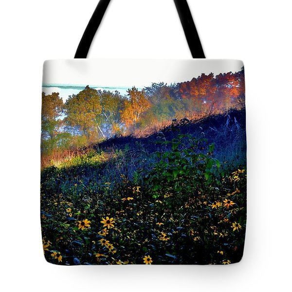 Fall On Garvin Heights Tote Bag