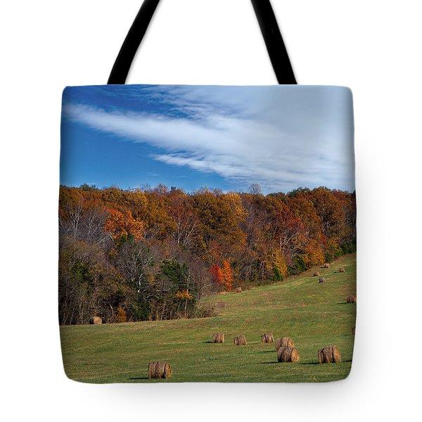 Fall On The Farm Tote Bag