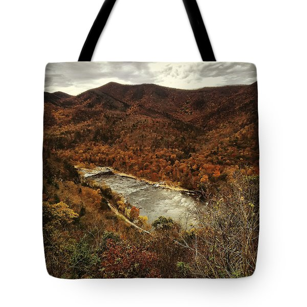 Fall On The Maury Tote Bag