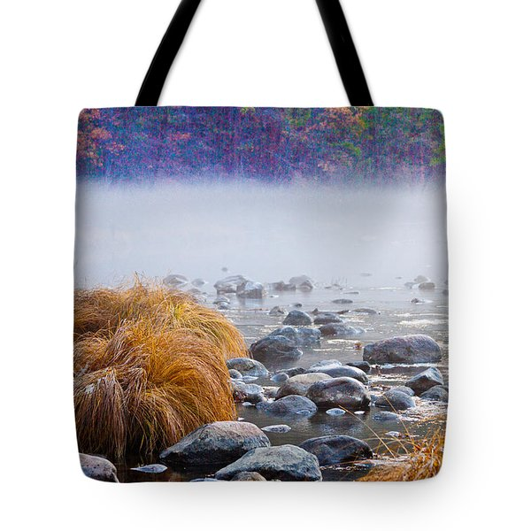 Fall On The Merced Tote Bag