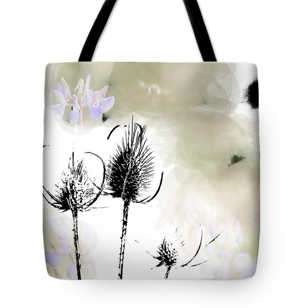 Fall On White II Tote Bag by Rich Collins