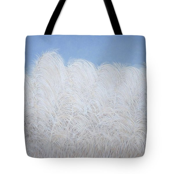 Tote Bag featuring the painting Fall Plumes by Cindy Lee Longhini