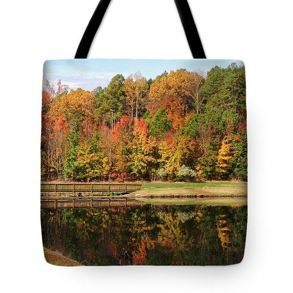 Fall Reflections Three Tote Bag