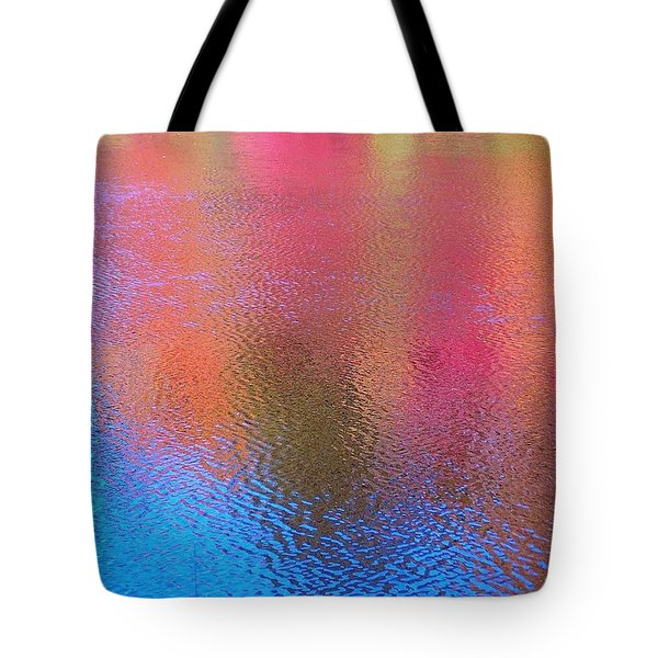 Fall Reflections In South Tote Bag