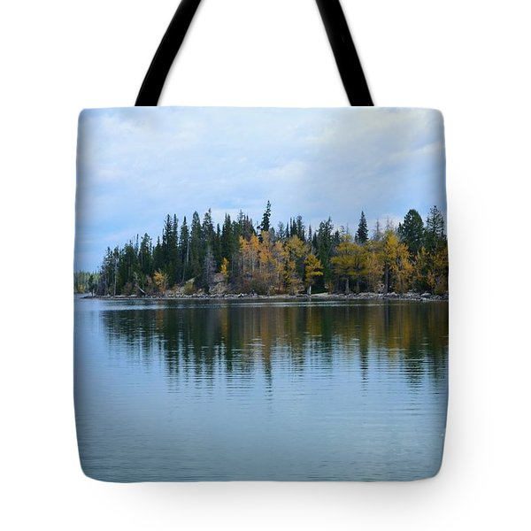 Fall Reflections Tote Bag by Kathleen Struckle