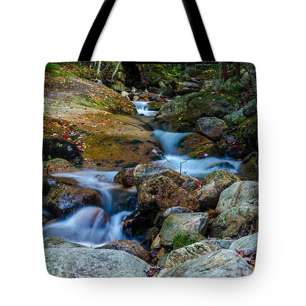 Fall Scene In Nh Tote Bag by Mike Ste Marie