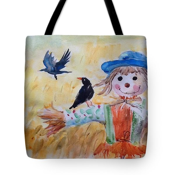 Fall Smile Tote Bag
