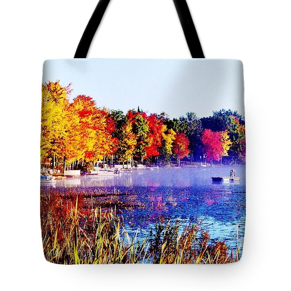 Tote Bag featuring the photograph Fall Splendor Of Mid-michigan by Daniel Thompson