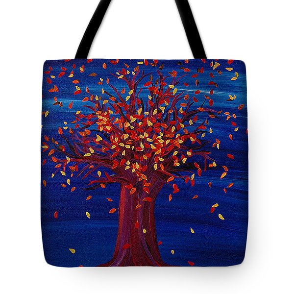Fall Tree Fantasy By Jrr Tote Bag