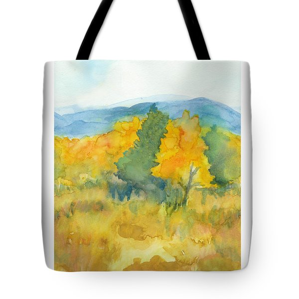 Fall Trees Tote Bag by C Sitton