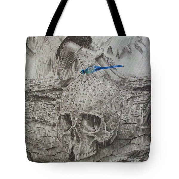 Fallen Tote Bag by Amber Stanford