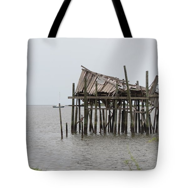 Fallen Deckhouse Tote Bag
