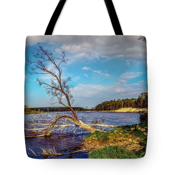 Tote Bag featuring the photograph Fallen by Dmytro Korol