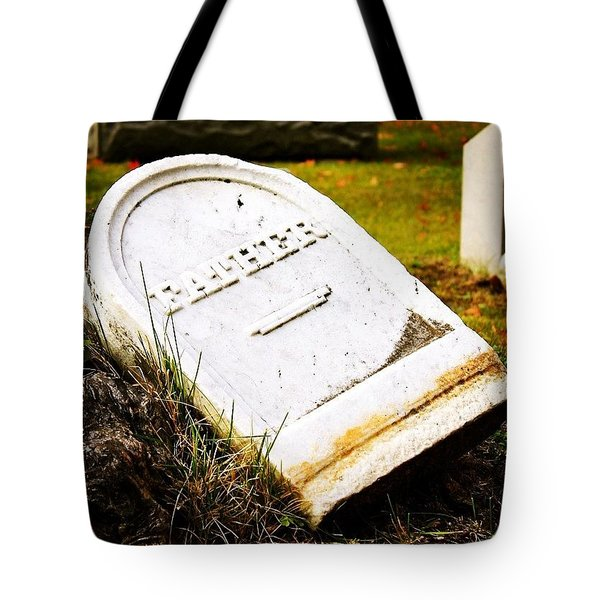 Fallen Father Tote Bag