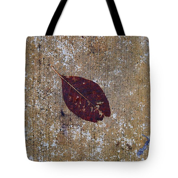 Tote Bag featuring the photograph Fallen by Jani Freimann