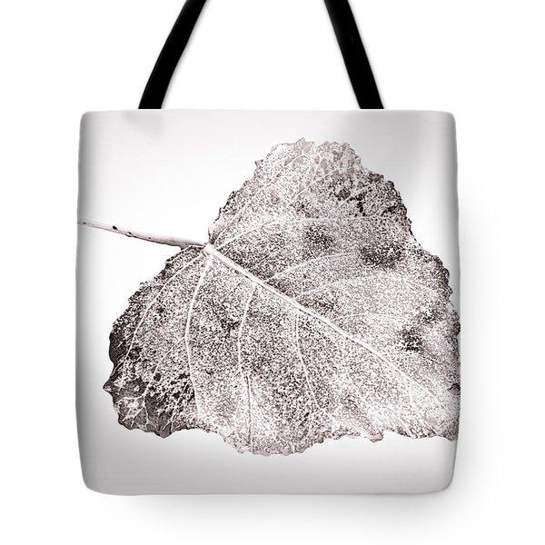 Fallen Leaf In Bwt Tote Bag