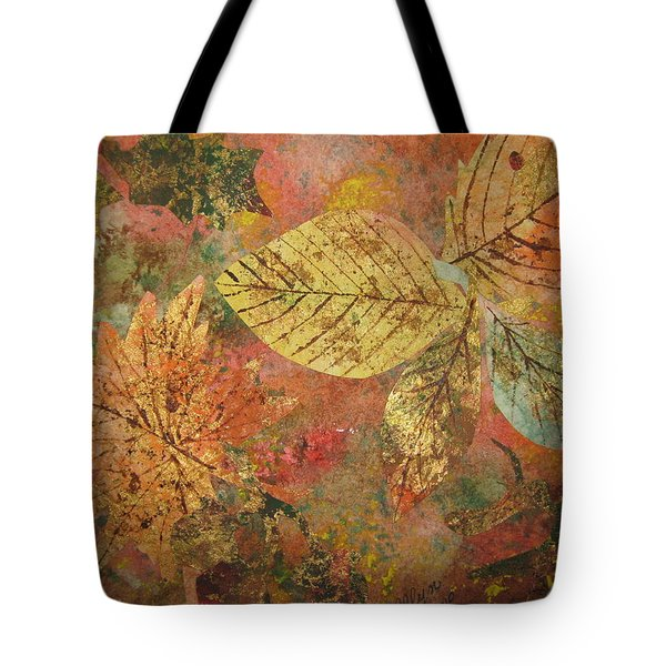 Fallen Leaves II Tote Bag