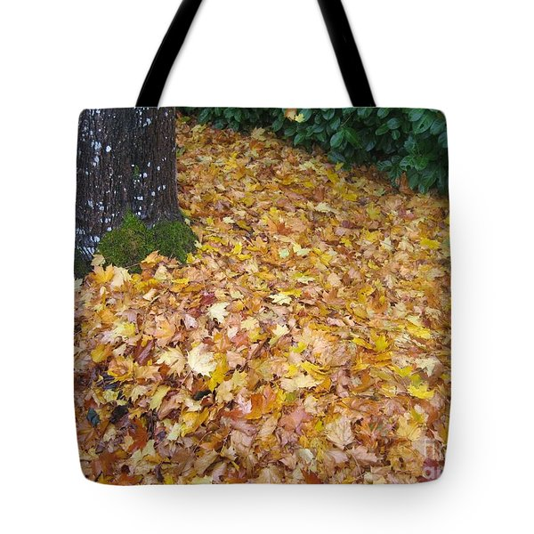 Fallen Leaves Tote Bag