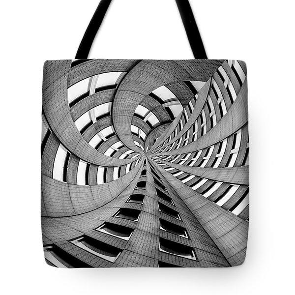 Falling Into Tote Bag