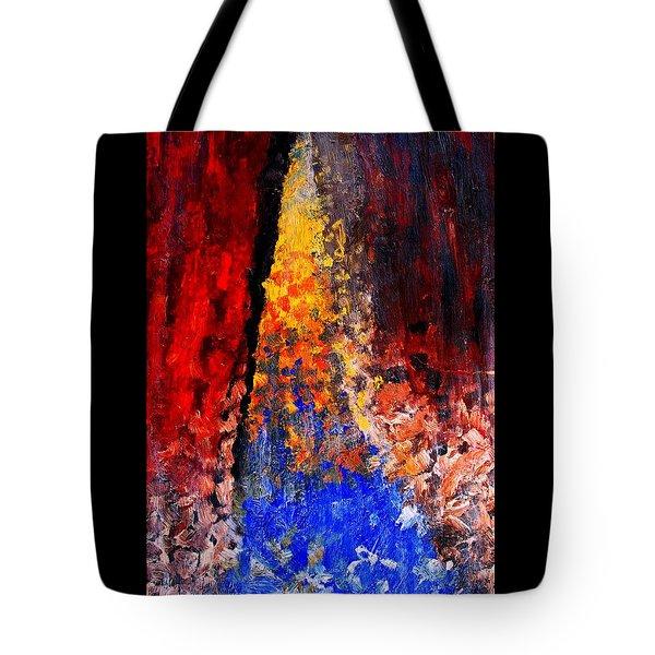Falling Tote Bag by Ian  MacDonald
