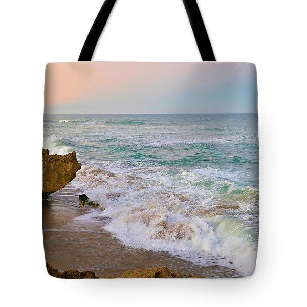 Falling In Love Tote Bag by Olga Hamilton