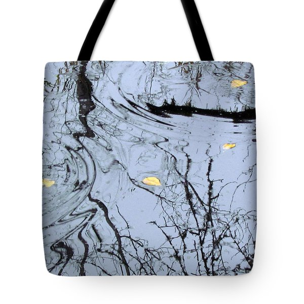 Tote Bag featuring the photograph Falling Leaves by I'ina Van Lawick