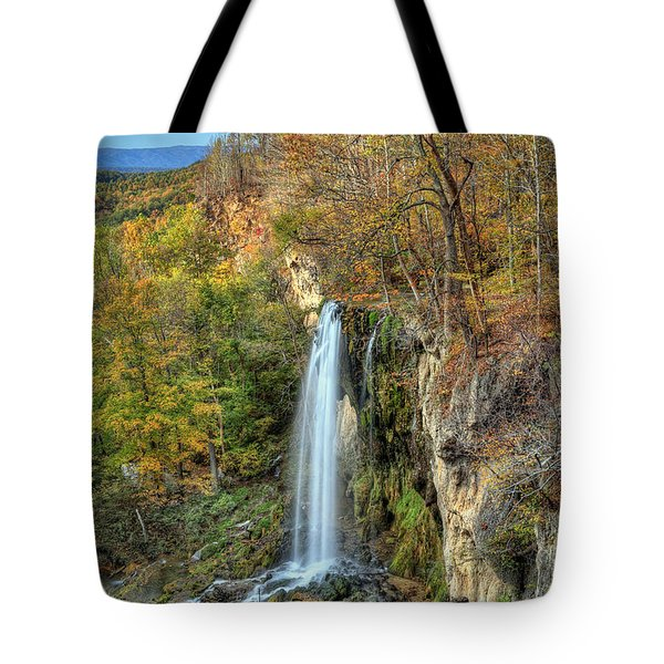 Falling Springs Falls Tote Bag