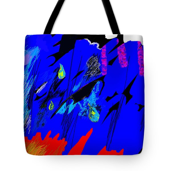 Falling Through Lightness  Tote Bag