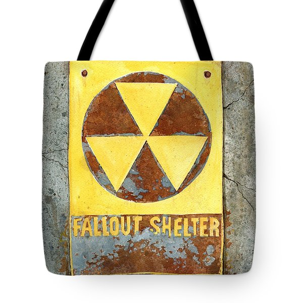 Fallout Shelter #2 Tote Bag