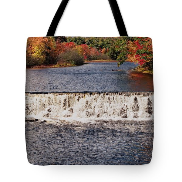Falls Color Tote Bag by Joann Vitali