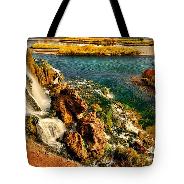 Tote Bag featuring the photograph Falls Creek Waterfall by Greg Norrell