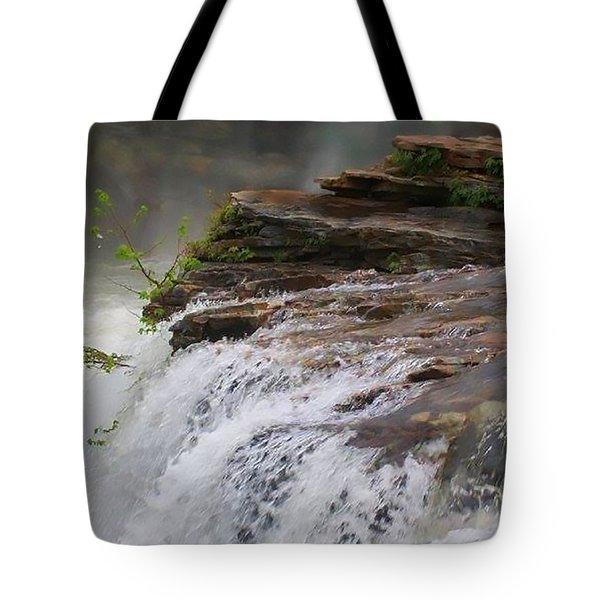 Falls Of Alabama Tote Bag