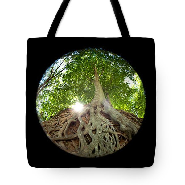 Falls Park Tryptic Tote Bag by Joye Ardyn Durham