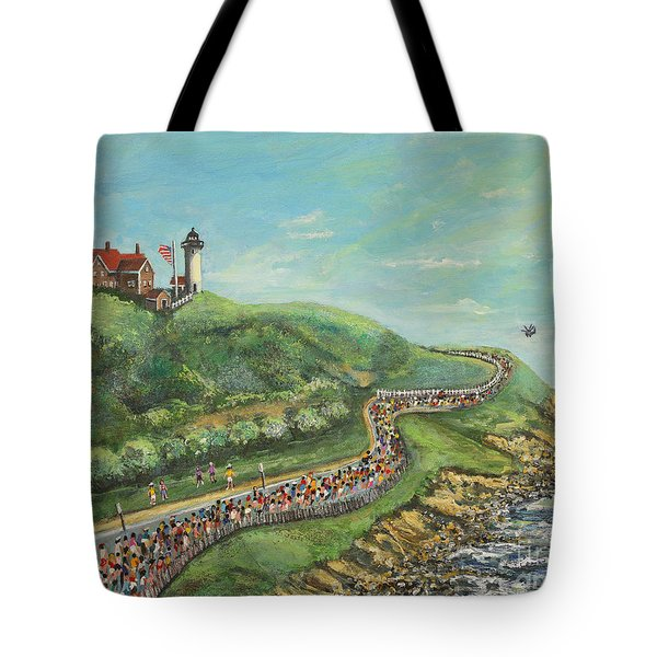 Falmouth Road Race Tote Bag