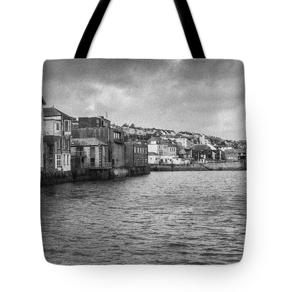 Falmouth Waterfront Tote Bag by Brian Roscorla