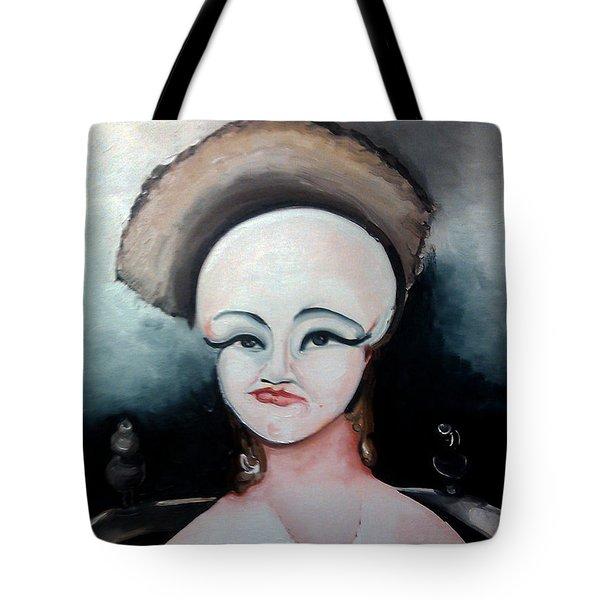 False Face Tote Bag