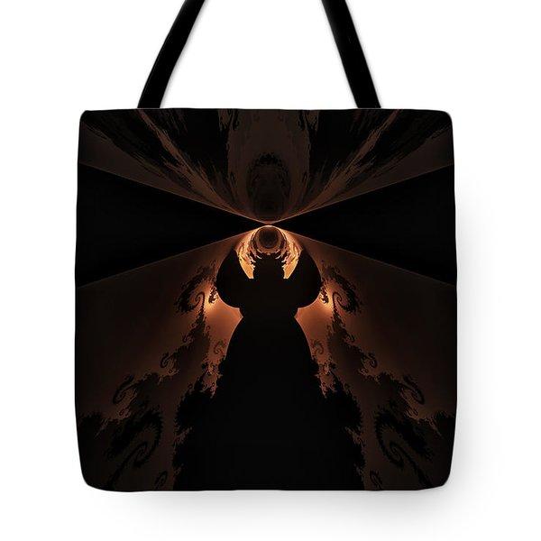 Tote Bag featuring the digital art False Prophet by GJ Blackman