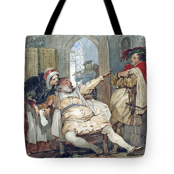 Falstaff Bardolph And Dame Quickly Tote Bag