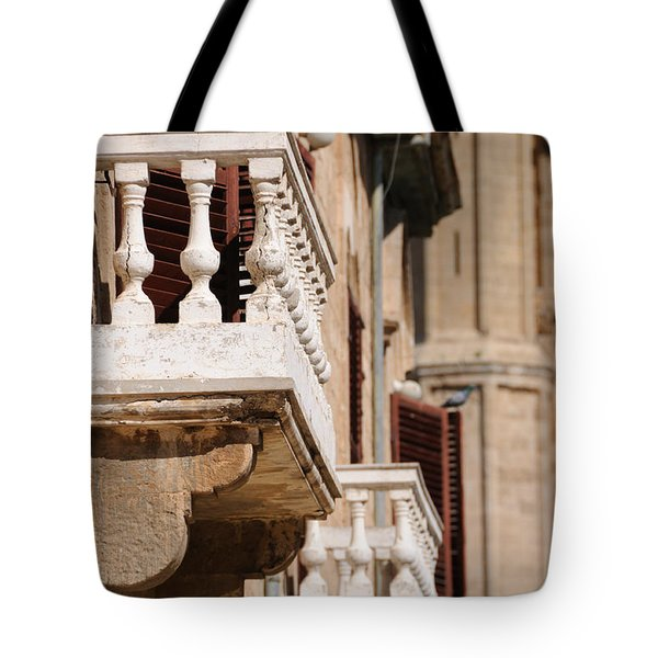 Famagusta Balconies Tote Bag
