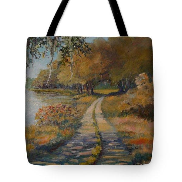 Familiar Road Tote Bag
