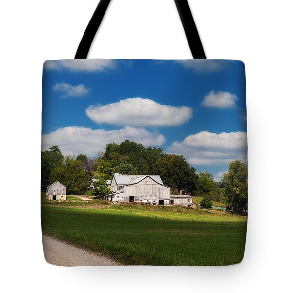 Family Farm Tote Bag