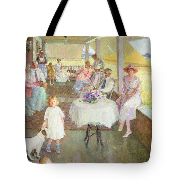Family Gathering, 1919 Tote Bag