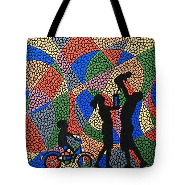 Family I Tote Bag by Kruti Shah