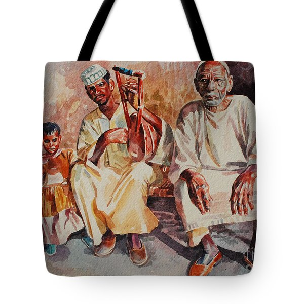 Family Tote Bag by Mohamed Fadul