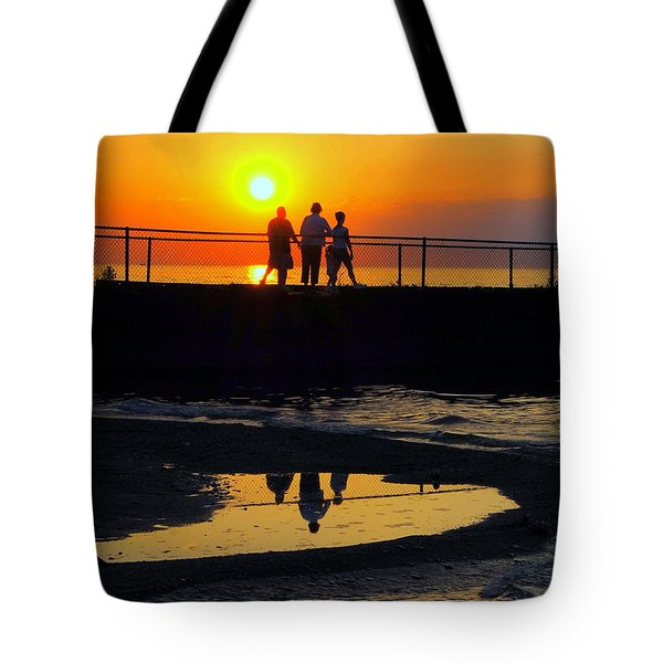 Family Moment Tote Bag