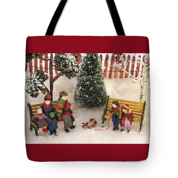 Family Outing Tote Bag by Caitlyn  Grasso